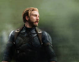 Captain America, Infinity War by RussianVal