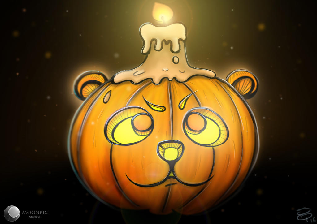 Halloween's Pandpkin by Moonpix-Studios
