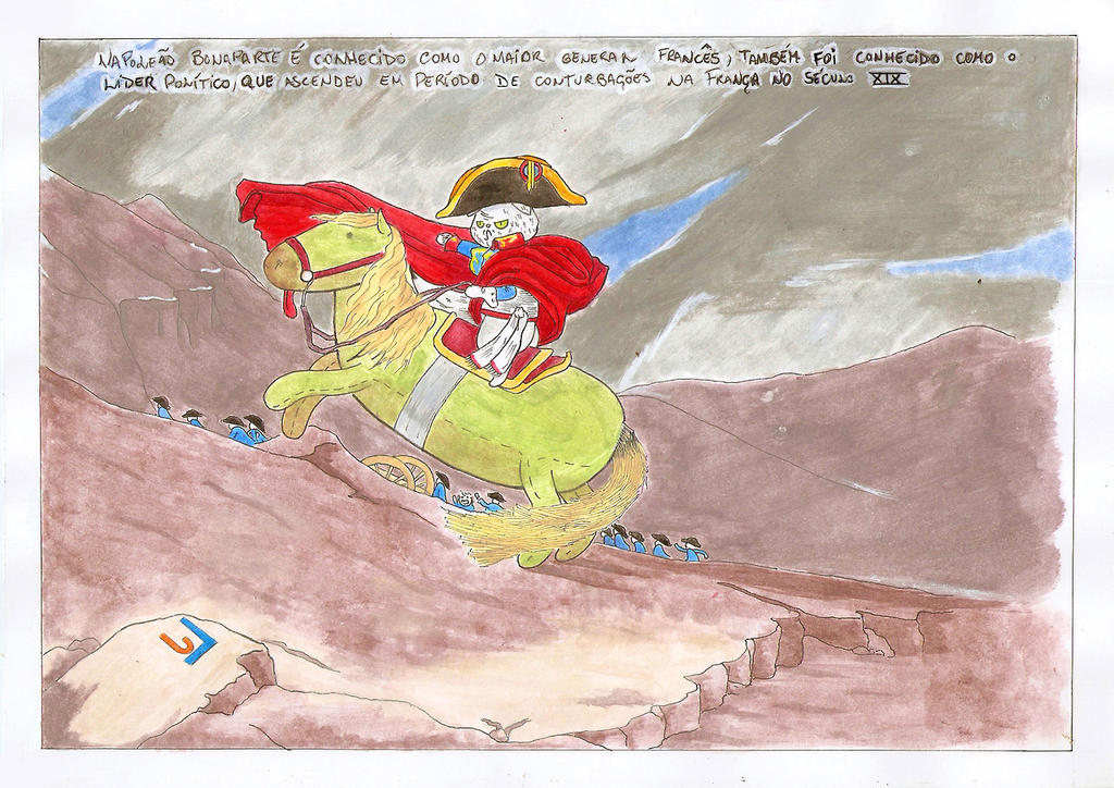 Napoleon et rose #012 by XdemonscreamX