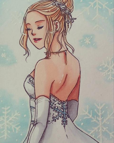 Wedding Dress by Aveleira-Art