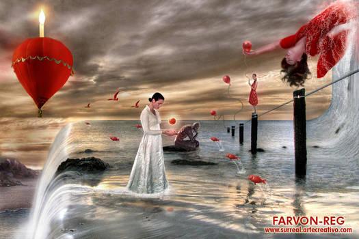 Flotando en Rojo