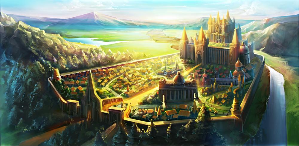 Pesco Capital of Salvatica by GleamingScythe