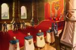 Royal Family And Royal Guards