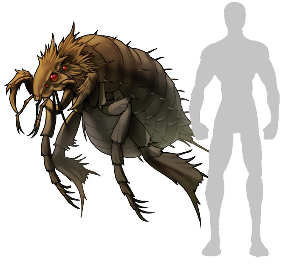 Giant Flea by G... Predator Animals