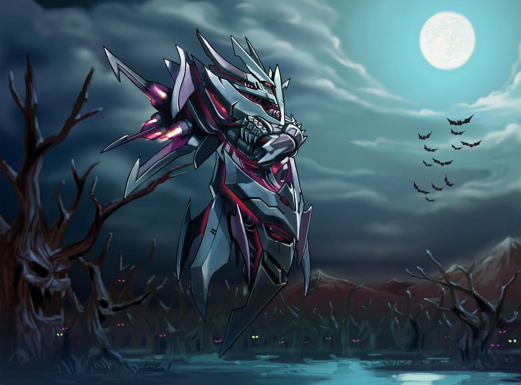 Domineus God of Darkness by GleamingScythe