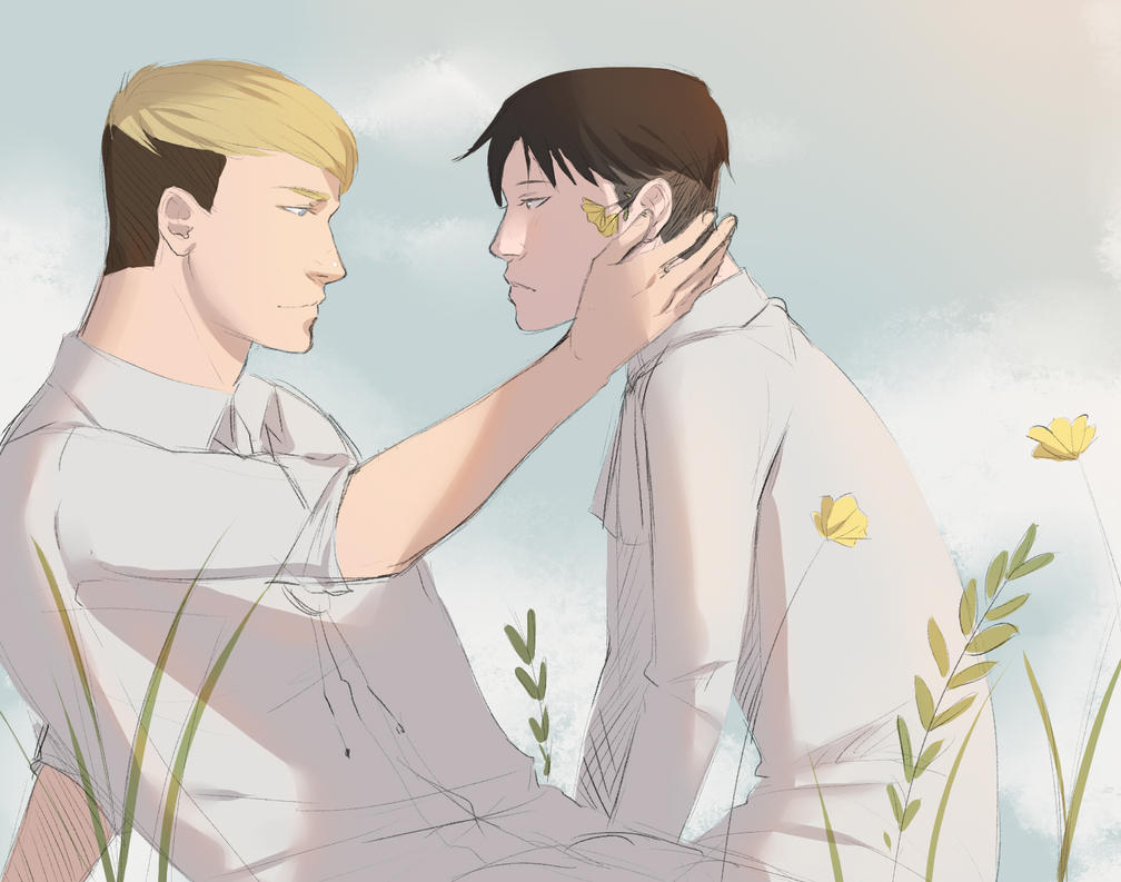 Quiet day (eruri) by MisakiboysloveS7