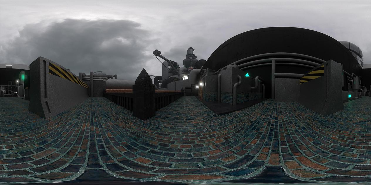 Midgar Sector 5 Station SteamVR Background by Killerx20