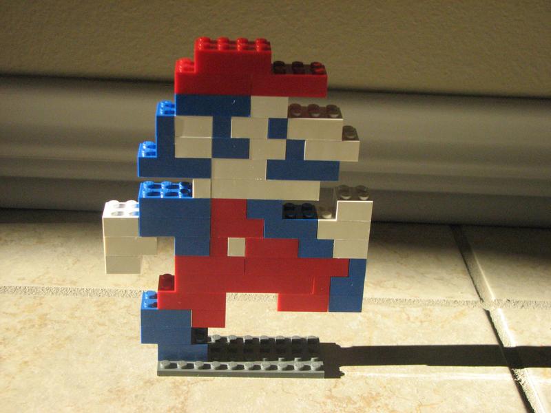 LEGO Mario by NeonWolfi