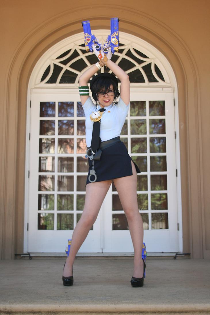 Bayonetta PoliceWoman atl. outfit by Nakahara-Sunako