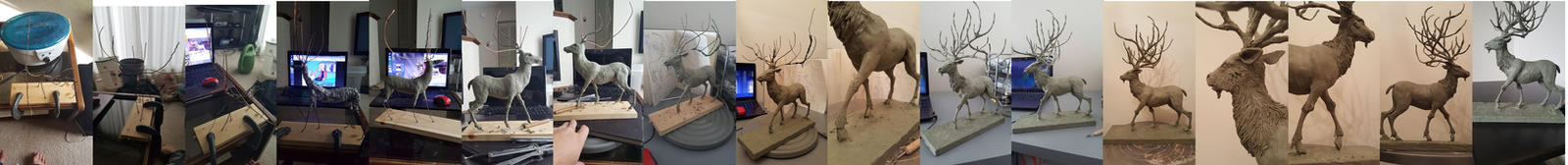Deer God Making Of by cadorath