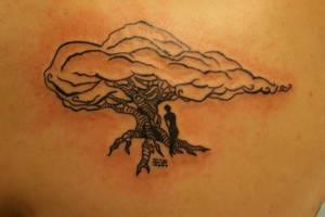 dream tree tattoo by EducatedMolecule