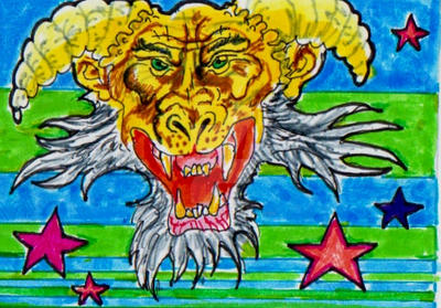 baboon God by TheodoreHeistman