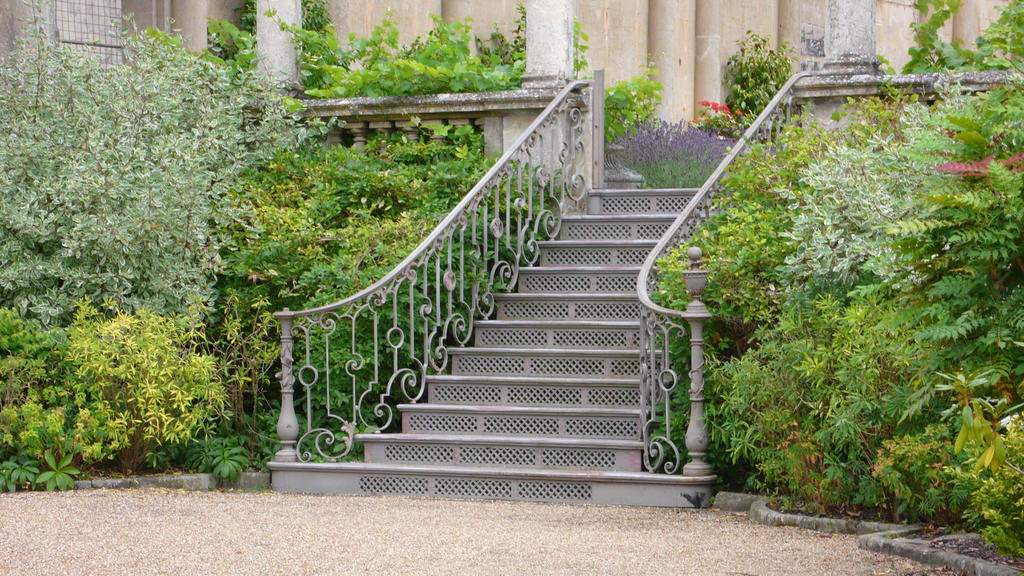 Outside Steps Stock by JessicaKStock