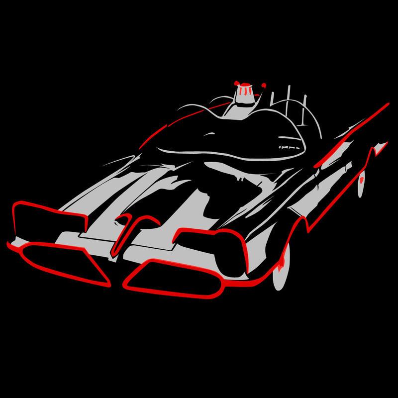 The Batmobile by Mnollock