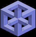 Escher Cube by Mnollock