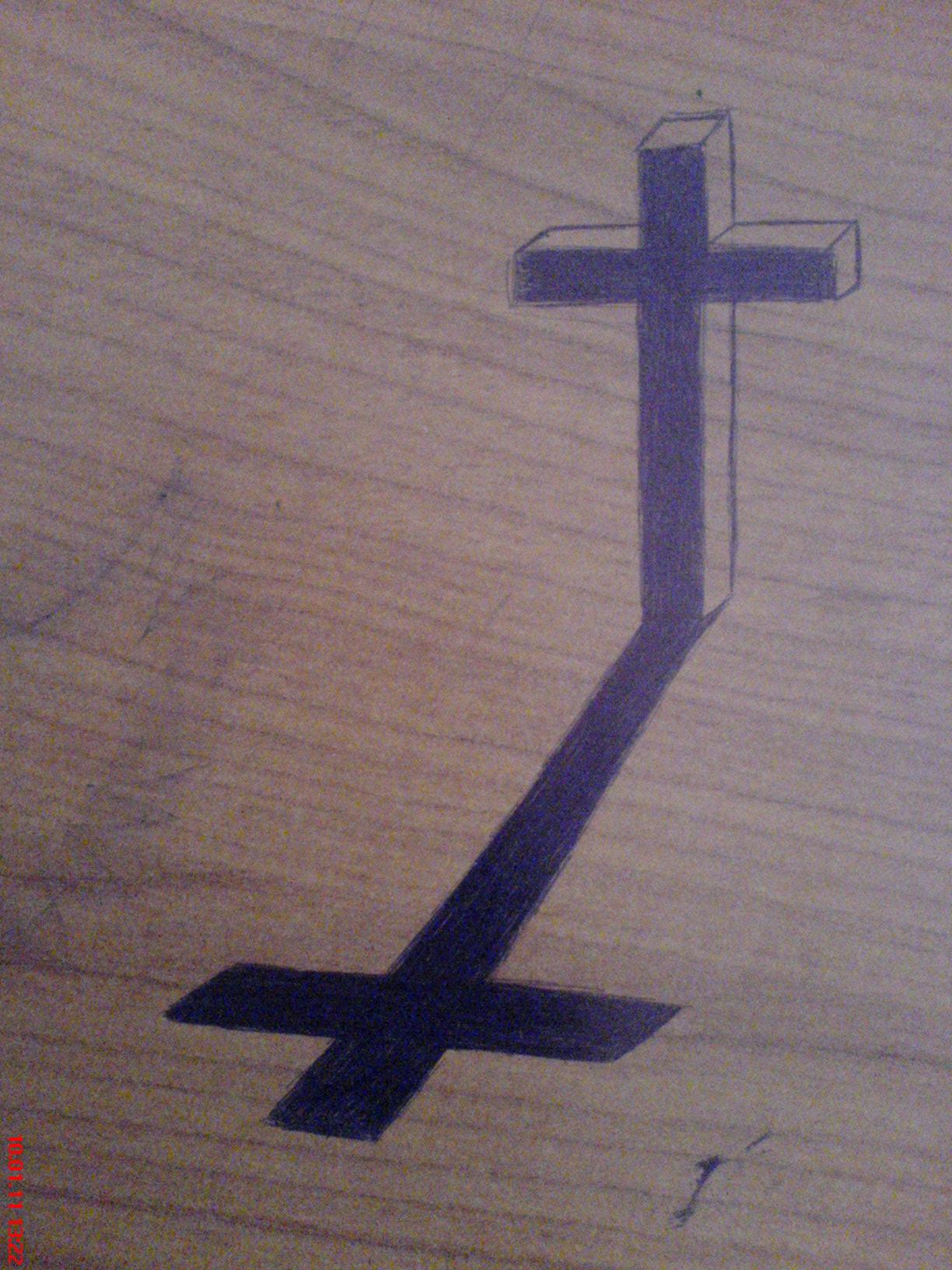 Cross's shadow