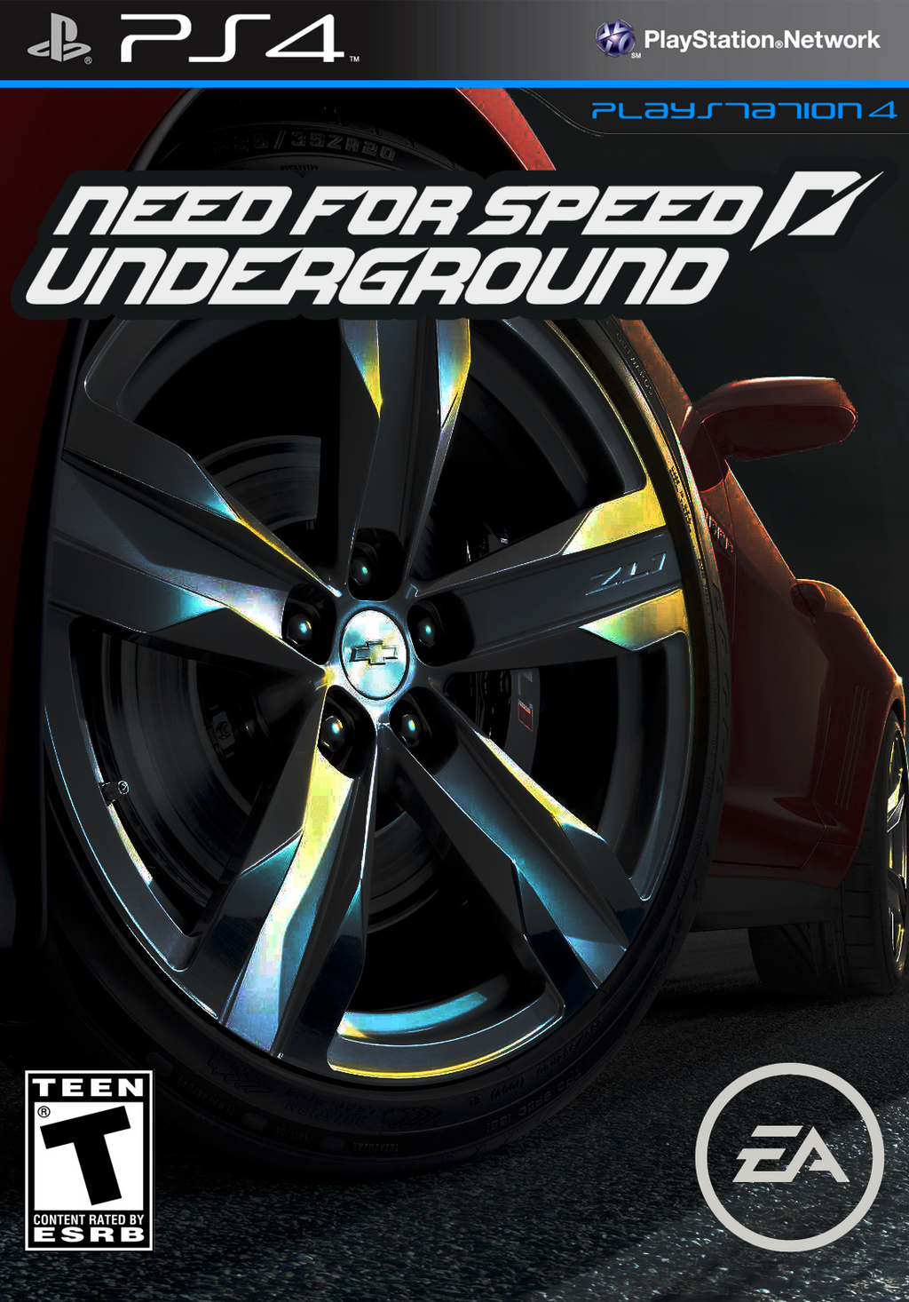 need for speed underground 2013 cover by dravenst0rm on deviantart. Black Bedroom Furniture Sets. Home Design Ideas