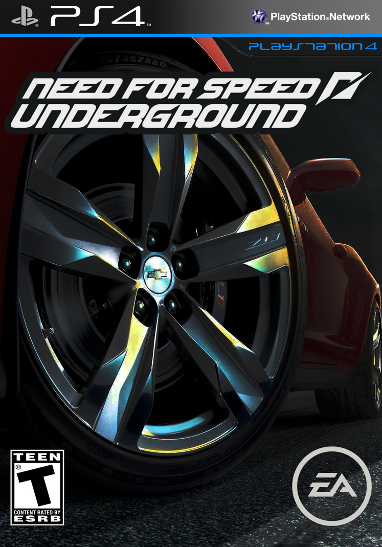 Need For Speed Underground 2013 Cover By DravenSt0rM