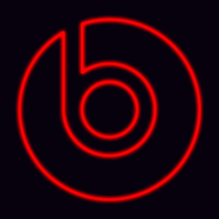 Glowing Beats By Dre Logo By Dravenst0rm On Deviantart
