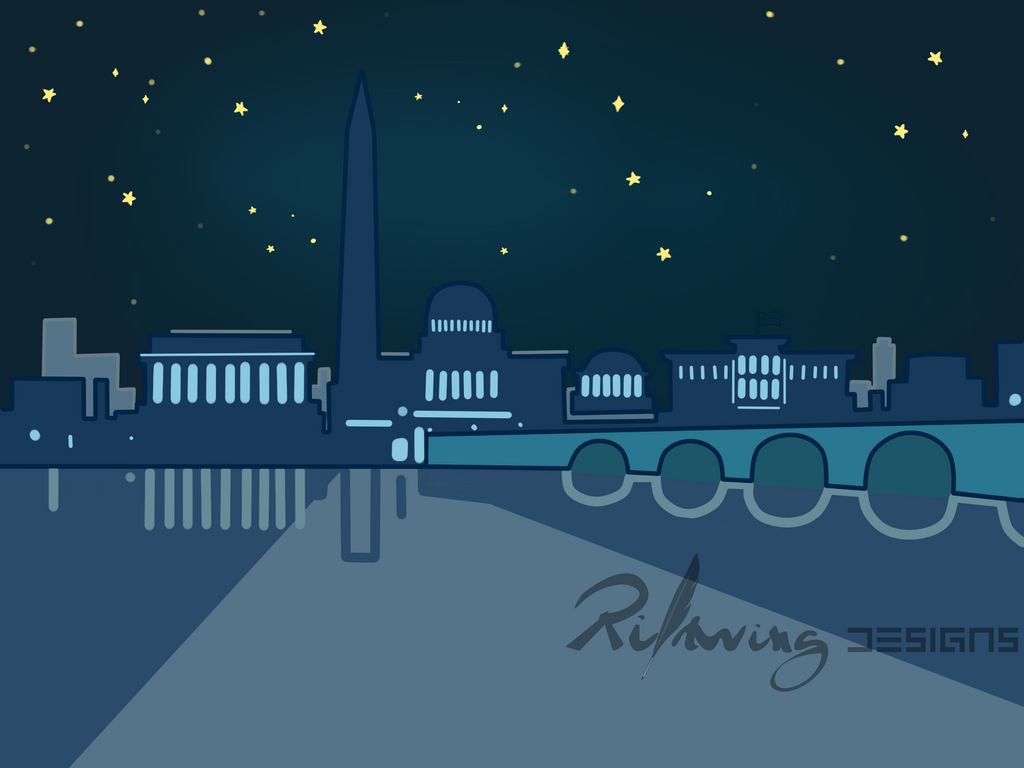 Washington DC Vector by RiftwingDesigns