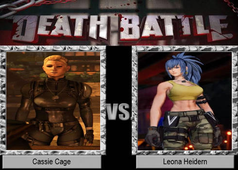 Cassie Cage vs Leona Heidern