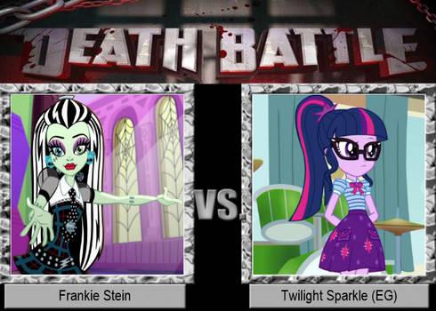 Frankie Stein vs Twilight Sparkle