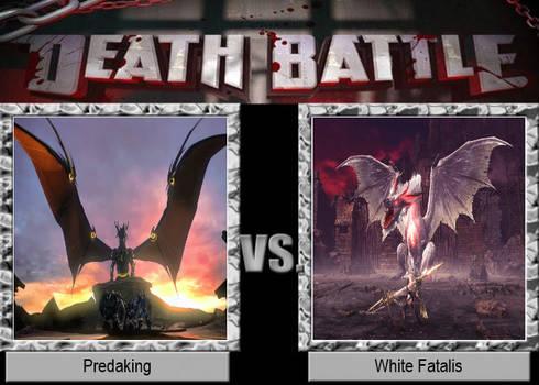 Predaking vs White Fatalis