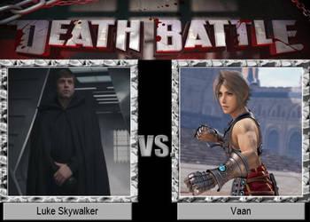 Luke Skywalker vs Vaan
