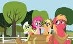 MLP:FiM : Apples to the core by doggie31