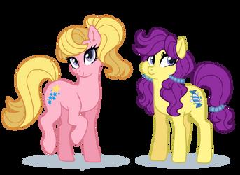 My Little Pony Tales: Starlight and Bon Bon by doggie31