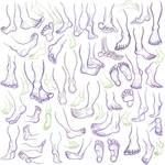 Feet practice 2