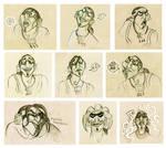 Tzekel-kan sketches