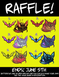 [CLOSED - RAFFLE] Batterfly Adopts!