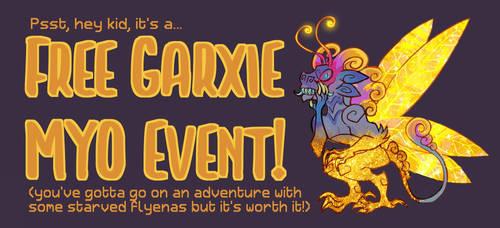 [OPEN] Racrar Exodus aka Write to Adopt a Garxie!