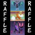 [OPEN] Rehoming Raffle! by FlyingCarpets