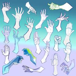 Hand Practice 03