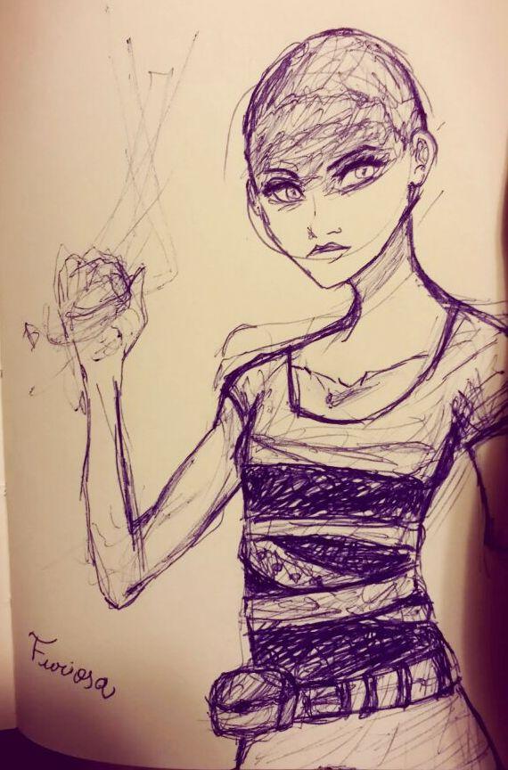 Fusiosa Sketch by kihara0907