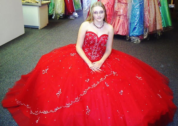 a dress for my prom
