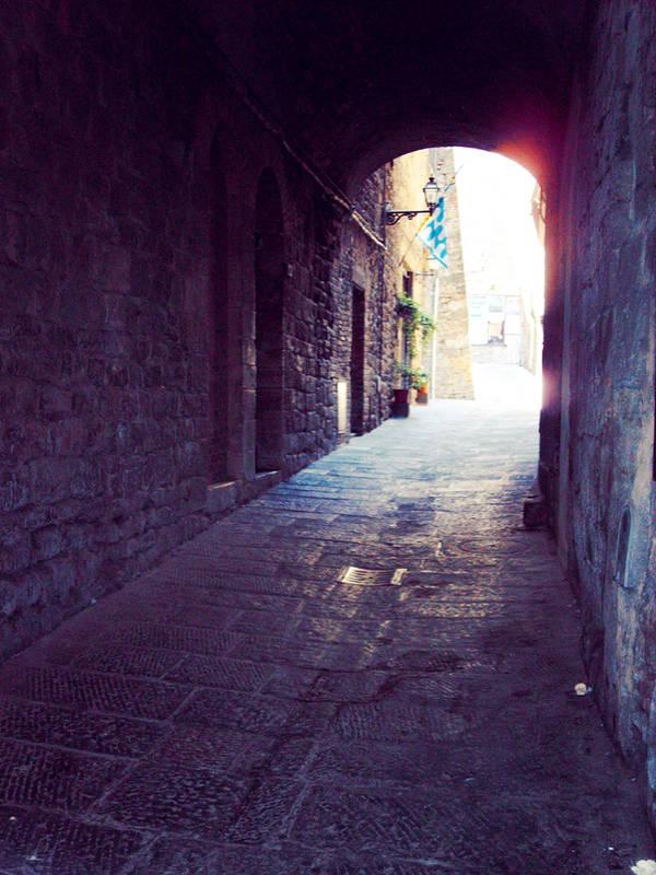 Tuscan Alley 2 - Volterra by cattycass