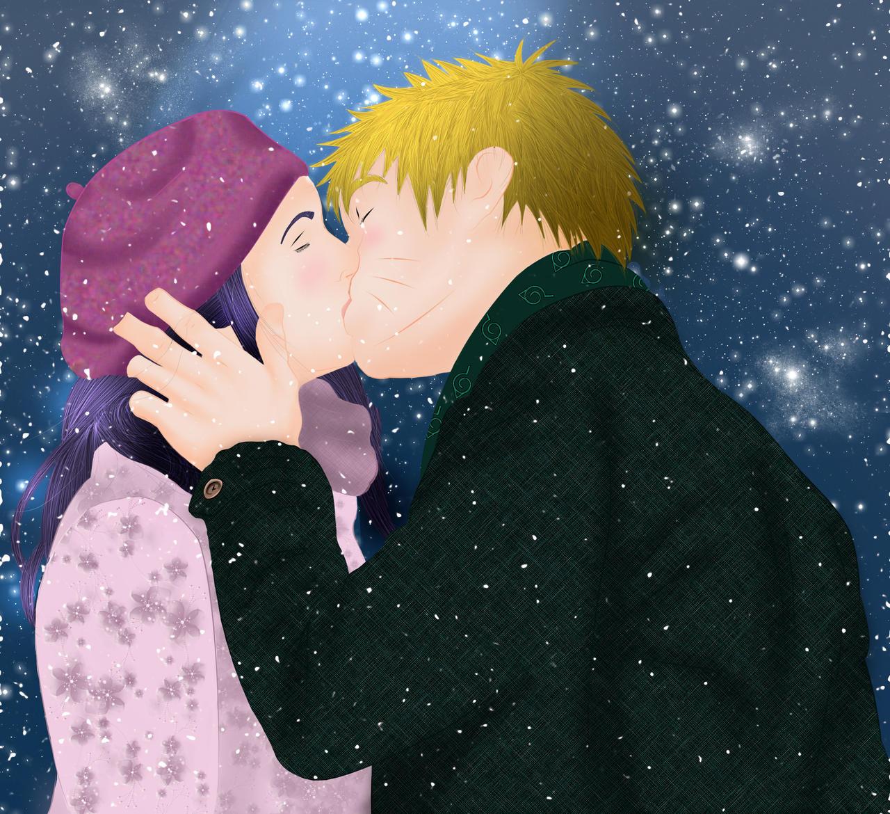Naruto Hinata_Let It Snow, Let It Snow.... By MimiSempai