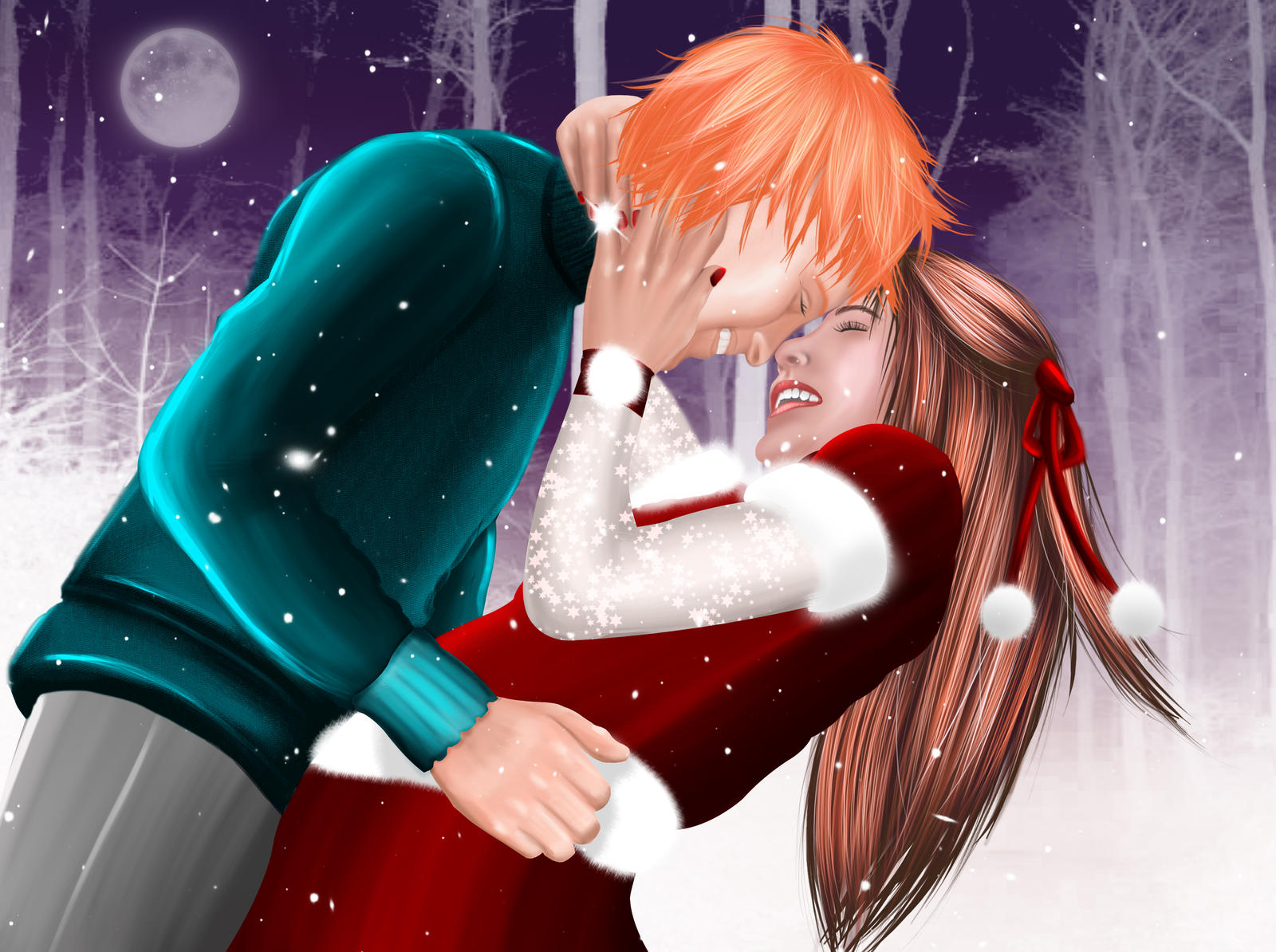 Fruits Basket : Merry Christmas Kyo-kun by MimiSempai