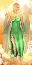 Konoha's angels 4 : Tsunade by MimiSempai