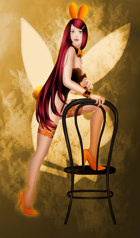 Konoha Playboy Girls 7 : Kushina by MimiSempai
