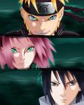 Colo Naruto chap 632 : New team 7