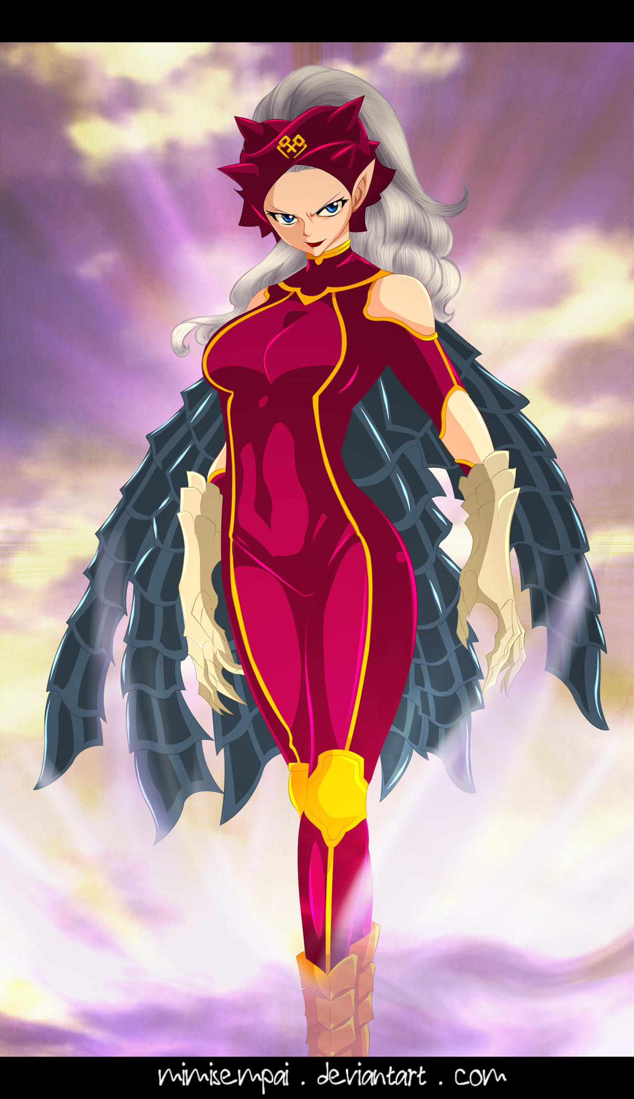 Fairy Tail chap 492 : Mirajane new Satan Soul by ...