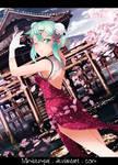 SAO Chinese dress style : Sinon - Asada Shino