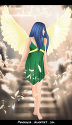 Fanart Fairy Tail Angels _ Wendy Marvell by MimiSempai