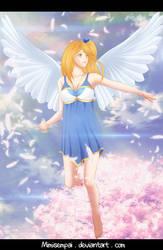 Fanart Fairy Tail Angels _ Lucy Heartfilia by MimiSempai