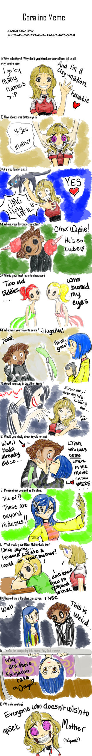 Meme for CORaline by ZOE-Productions