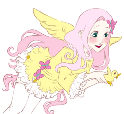 MLP - Fluttershy by ZOE-Productions